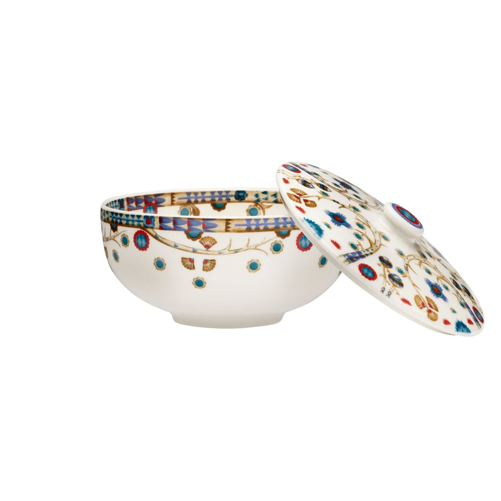 Iittala TAIKA Soup / Serving  Bowl (27 oz) with lid white