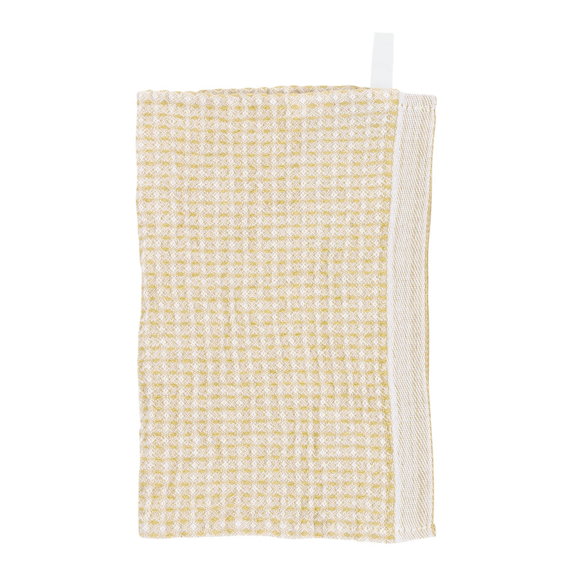 Lapuan Kankurit MAIJA dishcloth white-gold