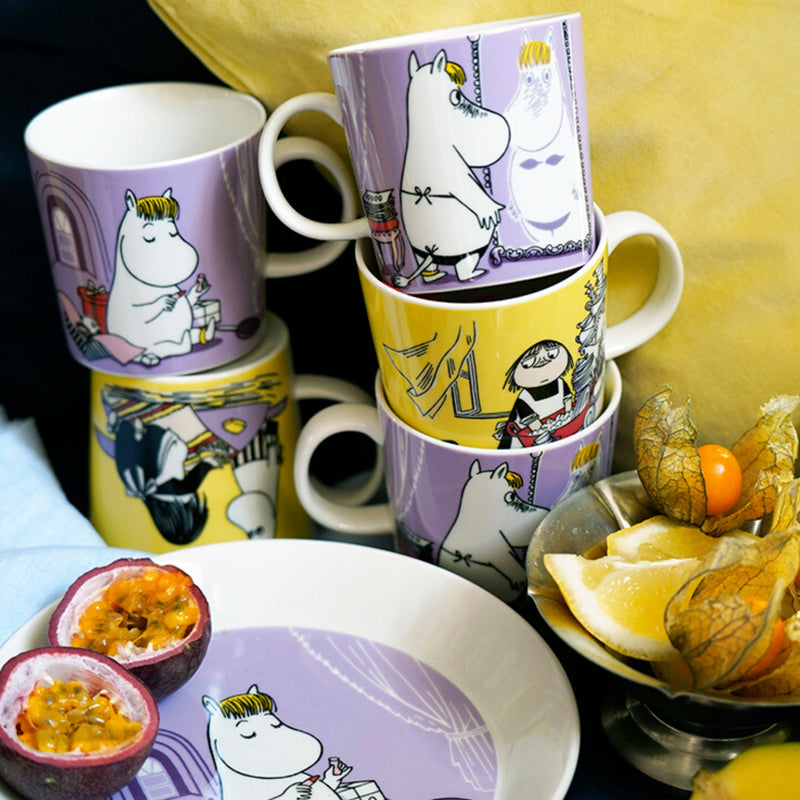 Arabia MOOMIN -  yellow MISABEL Mug (10 oz)
