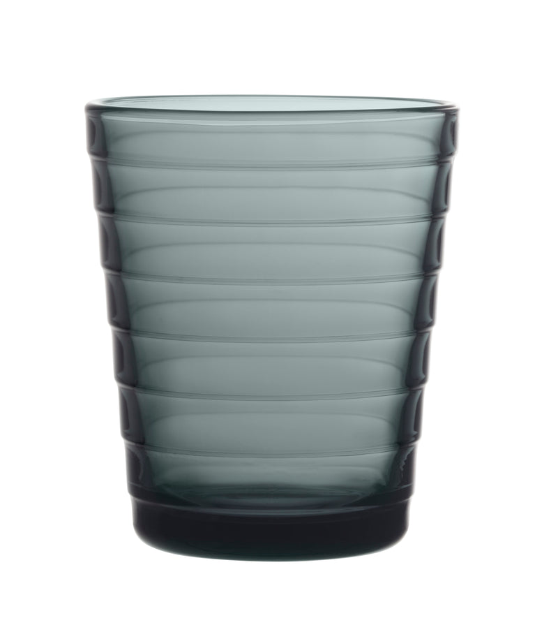 Iittala AINO AALTO (1932) Tumblers Set of 2 (7.75oz) Dark Grey
