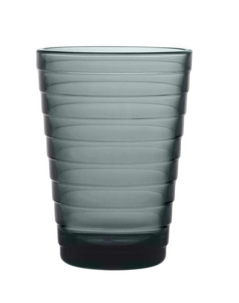 Iittala AINO AALTO (1932) Tumblers Set of 2 (11oz) dark grey