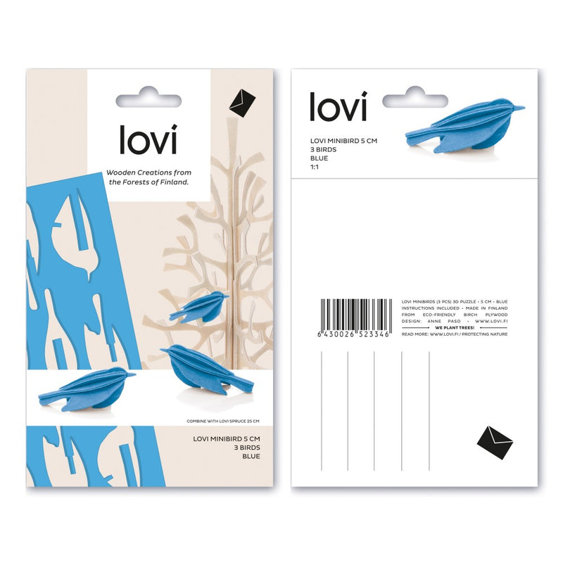 Lovi MINIBIRDS Set of 3 (2"