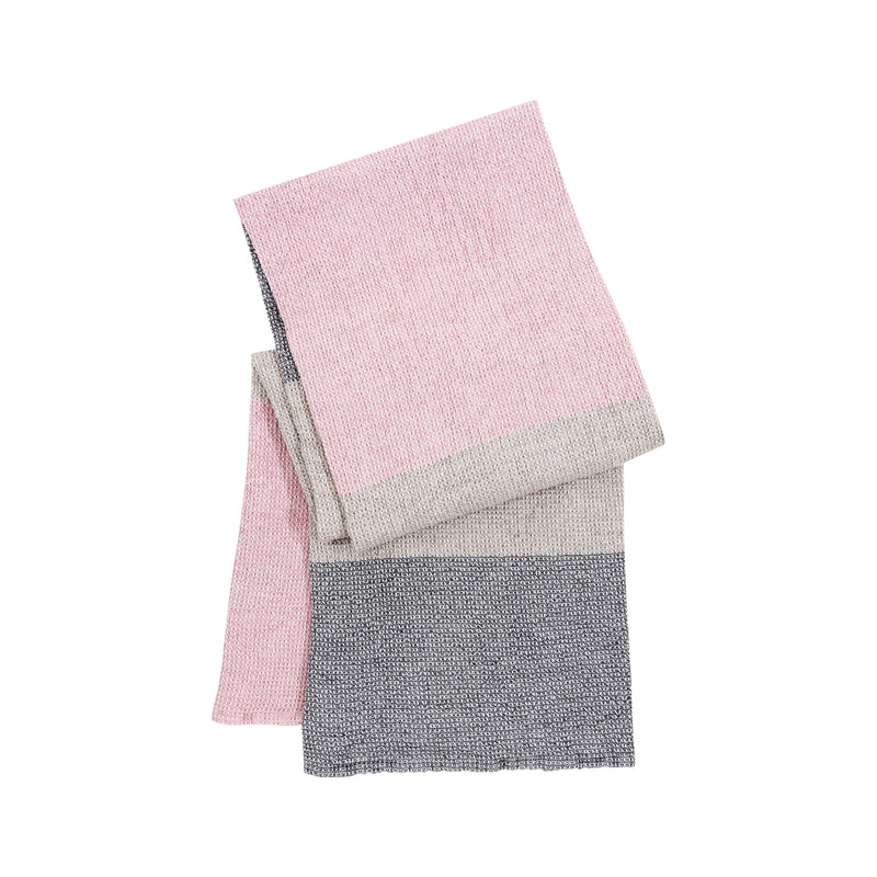 Lapuan Kankurit TERVA linen tercel bath sheet rose grey