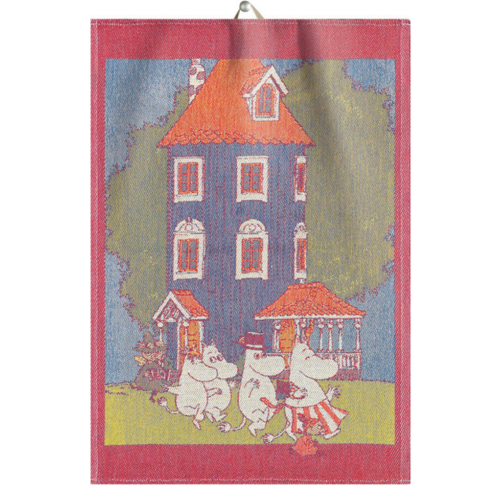 Ekelund MOOMIN HOUSE Tea Towel (14 x 20)