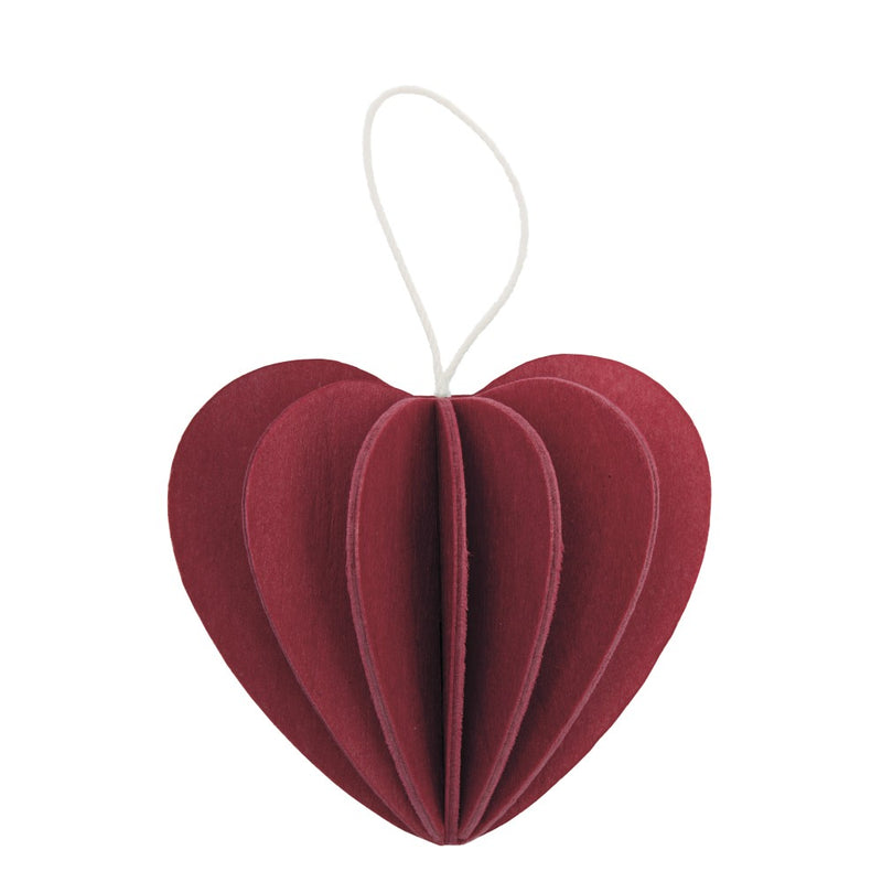 Lovi HEART Dark Red