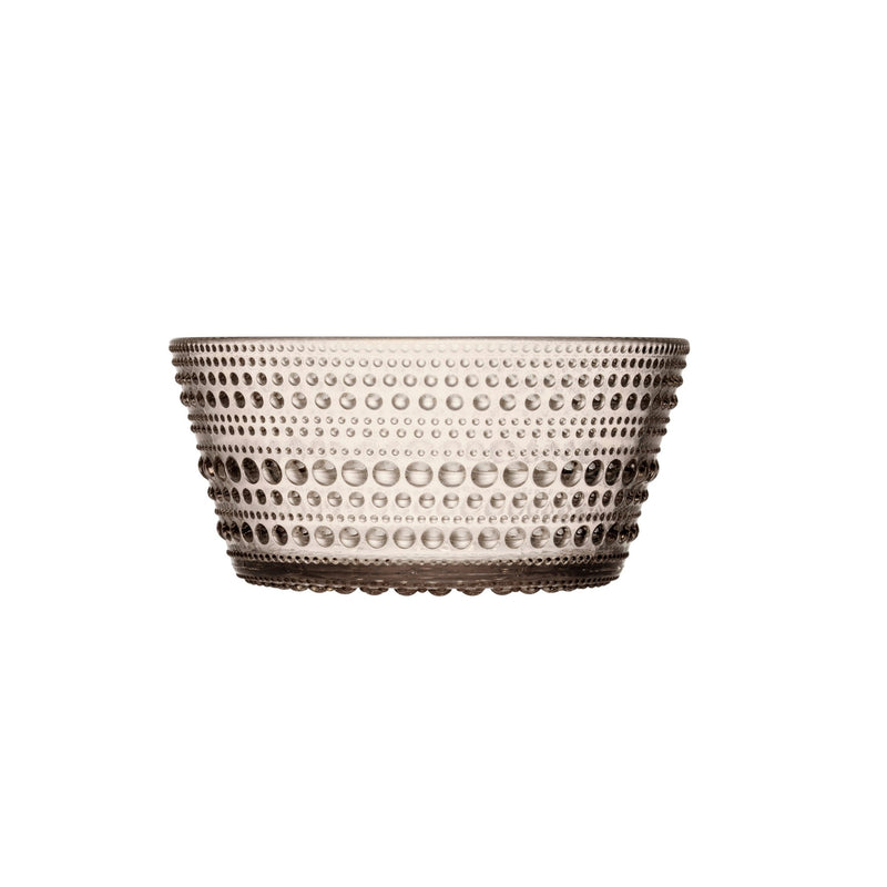 Iittala Kastehelmi dessert bowl in linen color