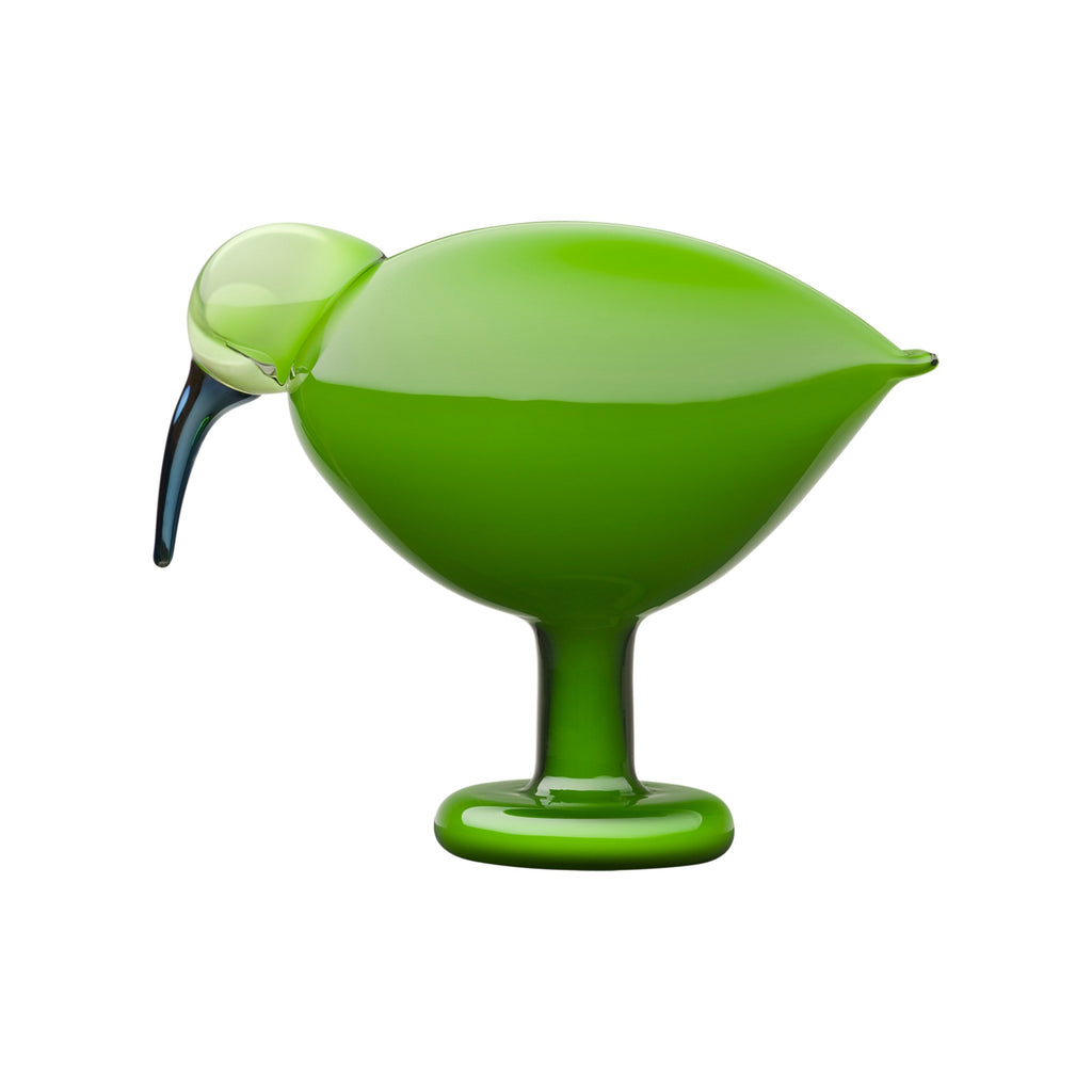 "Iittala BIRDS by TOIKKA Ibis (green) (8.5""x 6.75"")"