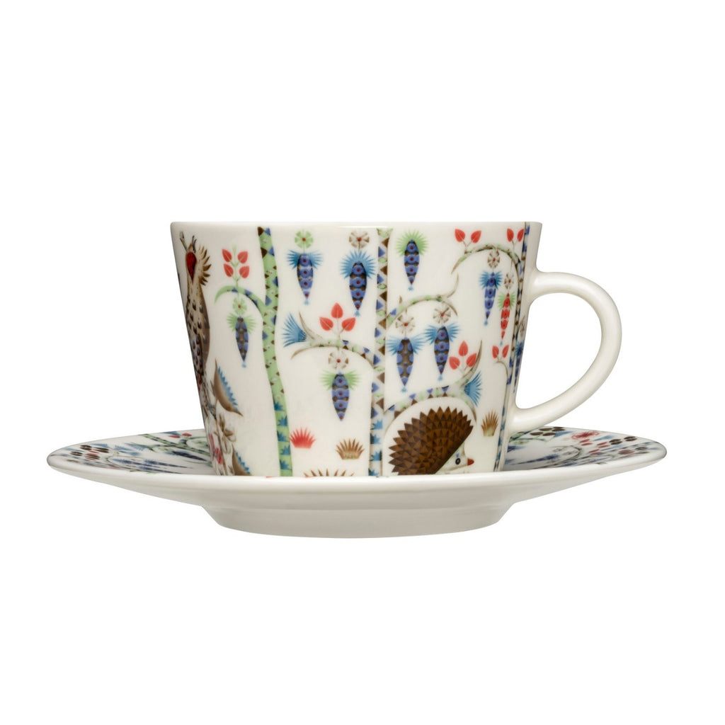 Iittala TAIKA SIIMES Coffee / Tea Cup and Saucer