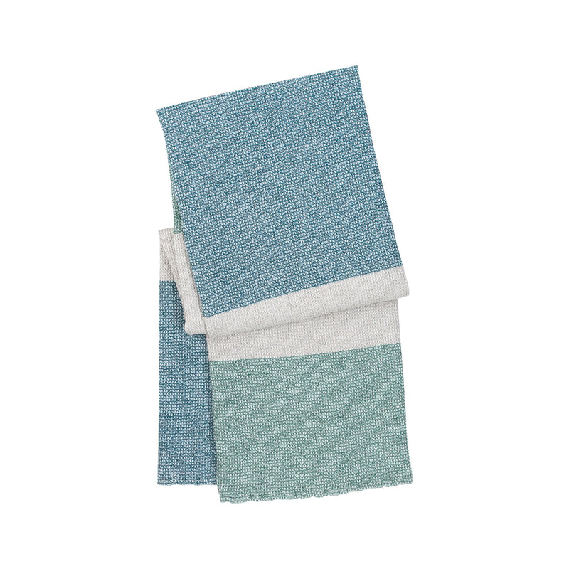 Lapuan Kankurit Terva Bath Sheet white multi aspen green