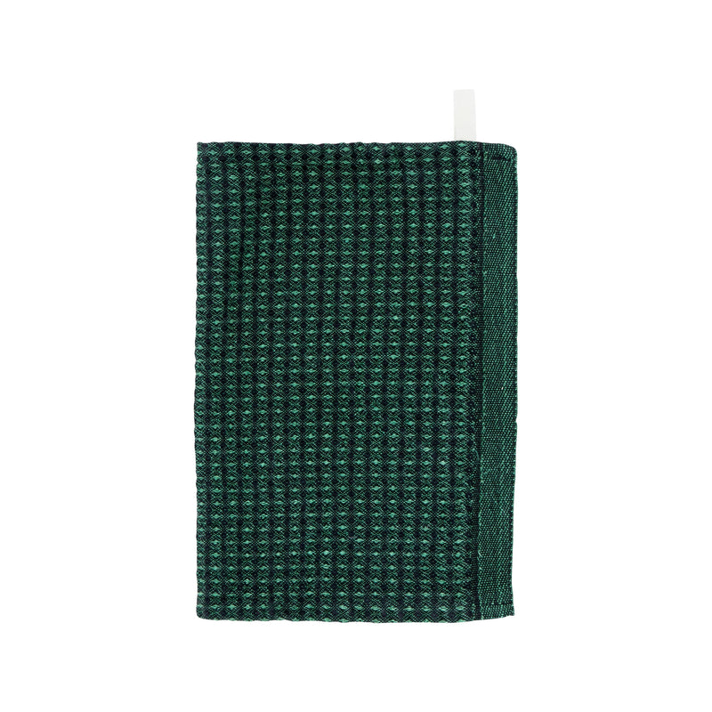 Lapuan Kankurit MAIJA Dishcloth Black Aspen Green