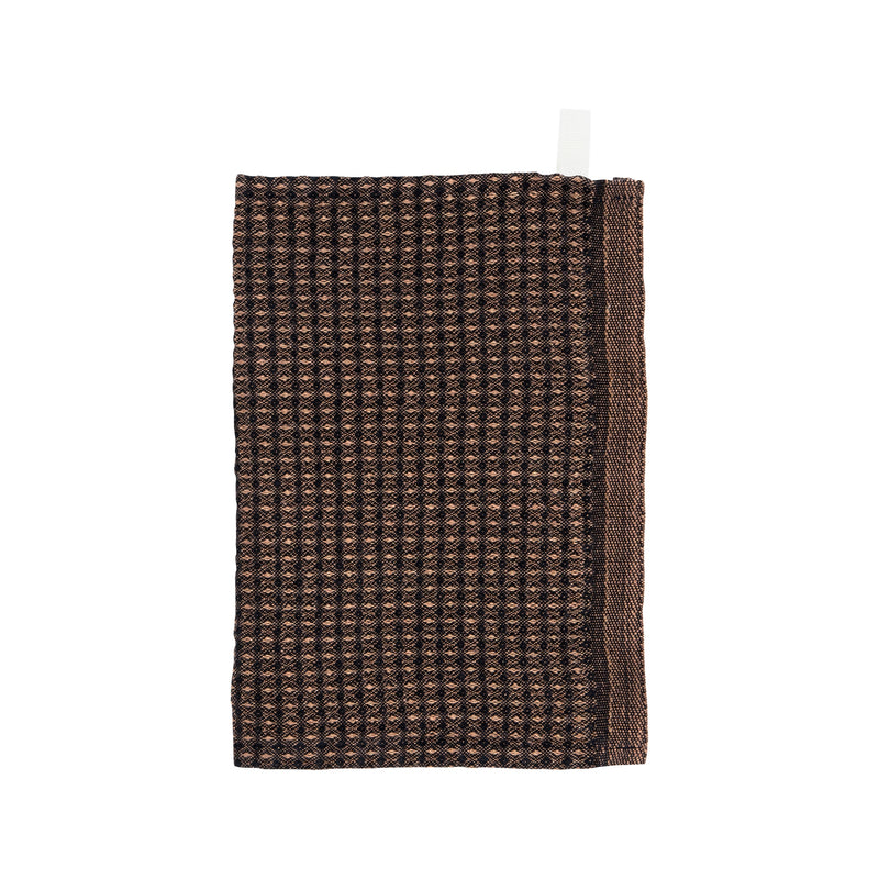 Lapuan Kankurit MAIJA Dishcloth Black Cinnamon