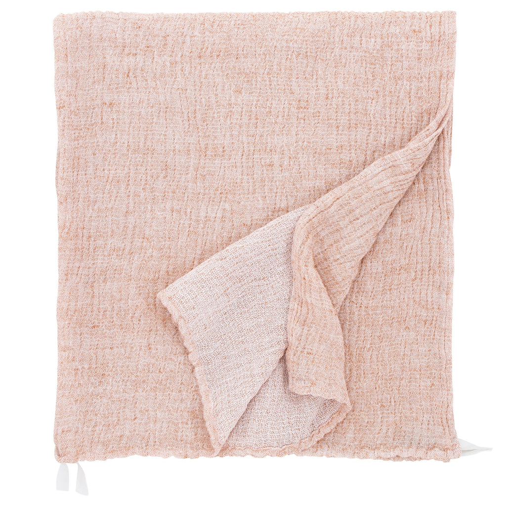 "Lapuan Kankurit NYYTTI Bath Sheet (37""x 71"") White Cinnamon"