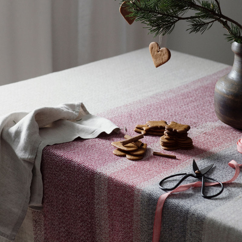 Lapuan Kankurit RUOSTE Blanket / Tablecloth (100 % linen)