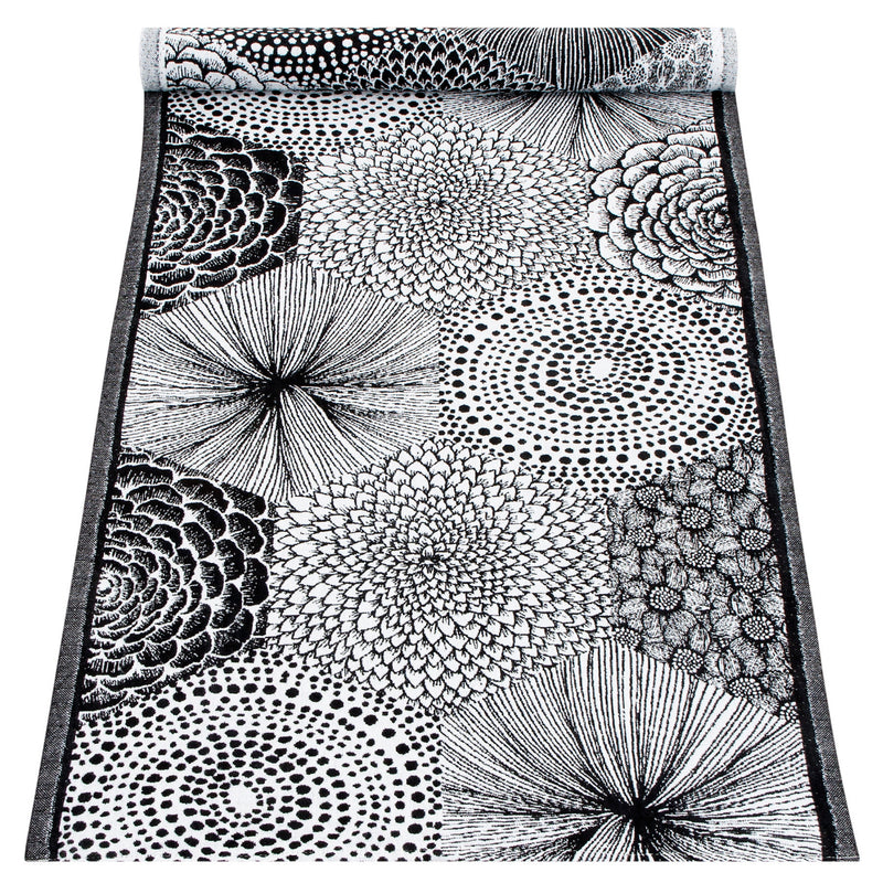 Lapuan Kankurit RUUT Tablerunner White Black