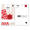Lovi STAR Bright Red Packaging
