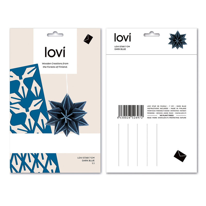 Lovi STAR Blue Packaging