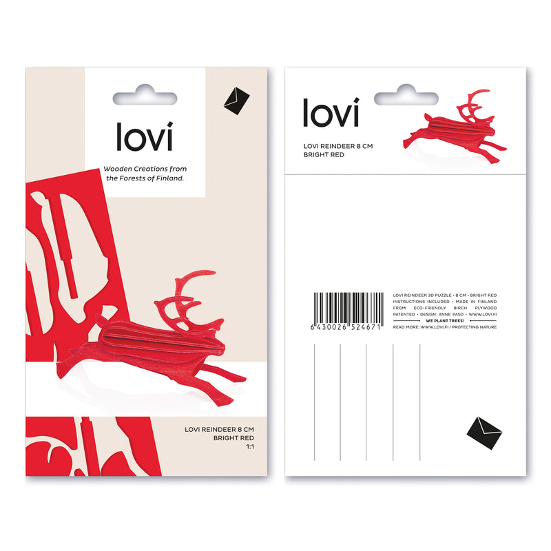 Lovi REINDEER (4 colors)