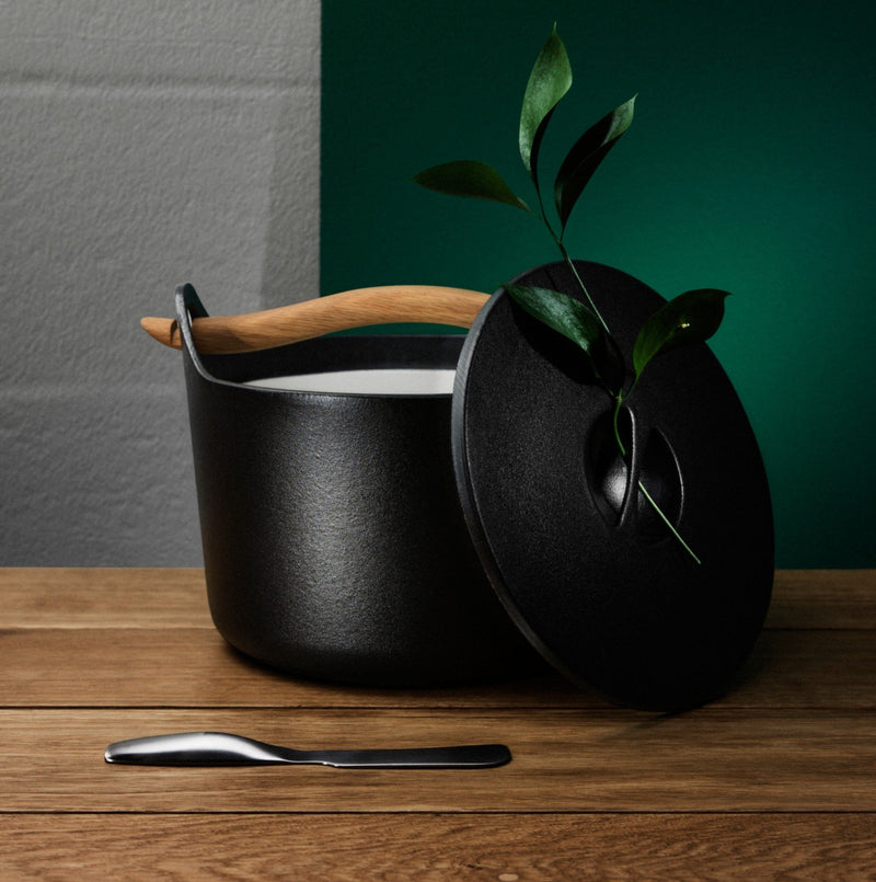 Iittala SARPANEVA (1960) Cast Iron Pot