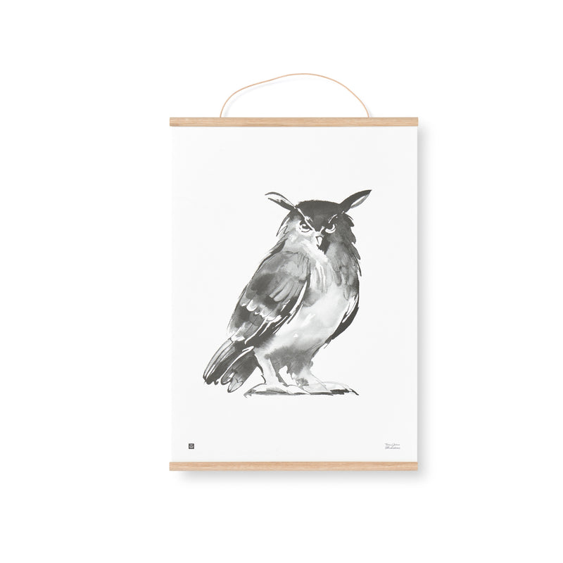 Teemu Järvi OAK POSTER FRAME with a leather string | 4 size options