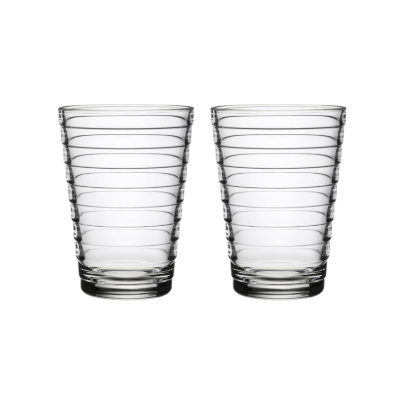 Iittala AINO AALTO (1932) Tumblers Set of 2 (11oz) clear