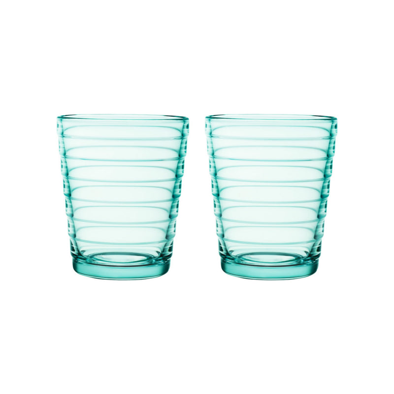 Iittala AINO AALTO (1932) Tumblers Set of 2 (7.75oz) water green