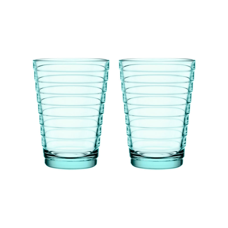 Iittala AINO AALTO (1932) Tumblers Set of 2 (11oz) water green