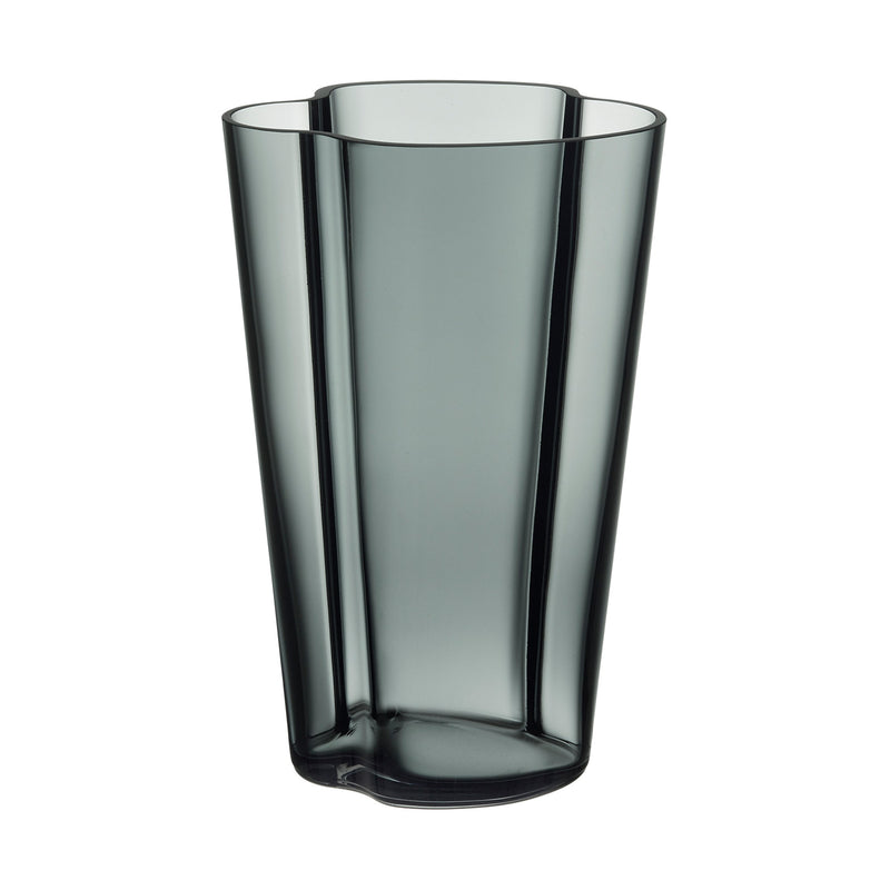 "Iittala ALVAR AALTO COLLECTION Vase (8.75"") grey"