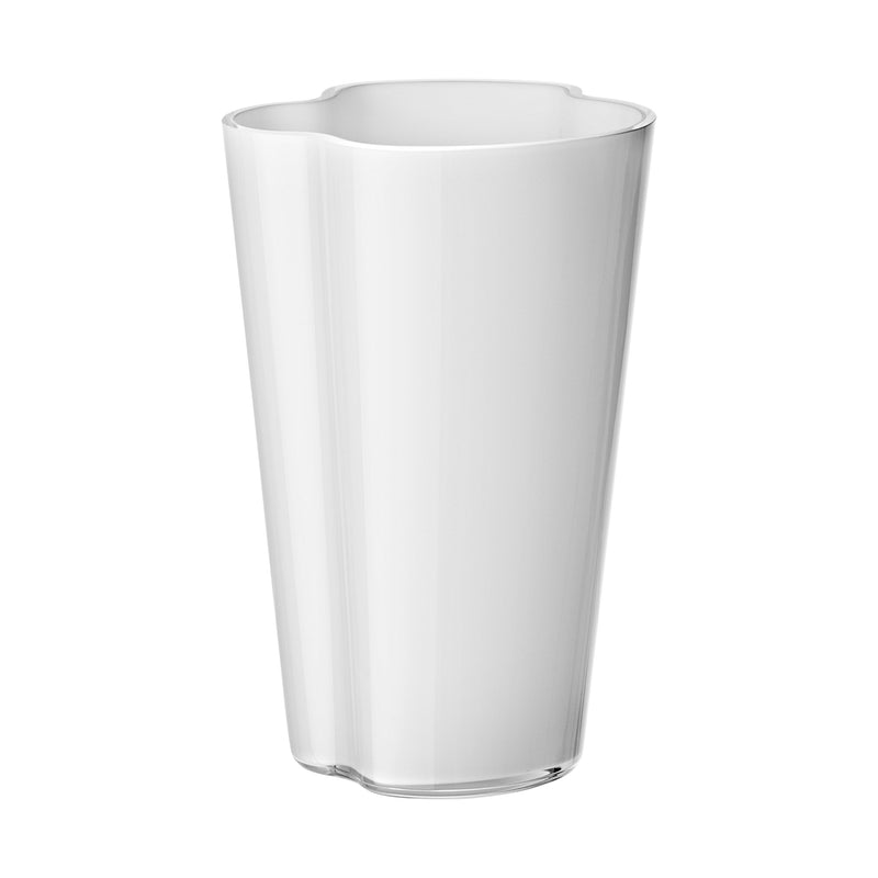 "Iittala ALVAR AALTO COLLECTION Vase (8.75"") white"