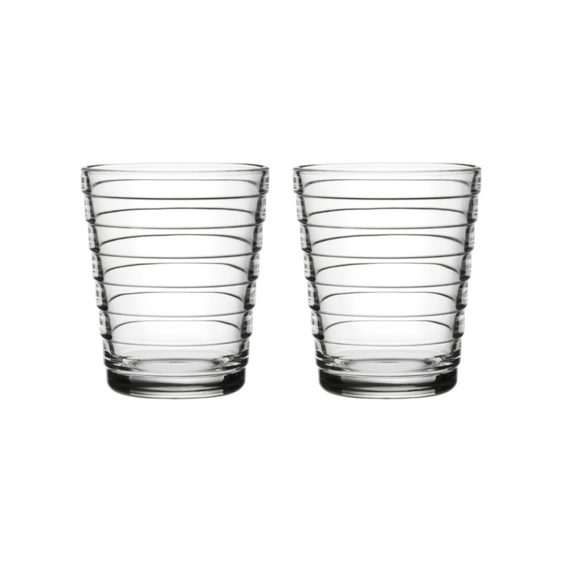 Iittala AINO AALTO (1932) Tumblers Set of 2 (7.75oz) clear