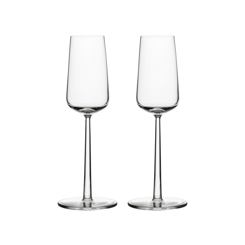 Iittala ESSENCE (2001) Champagne Glasses (set of 2 | 7oz)