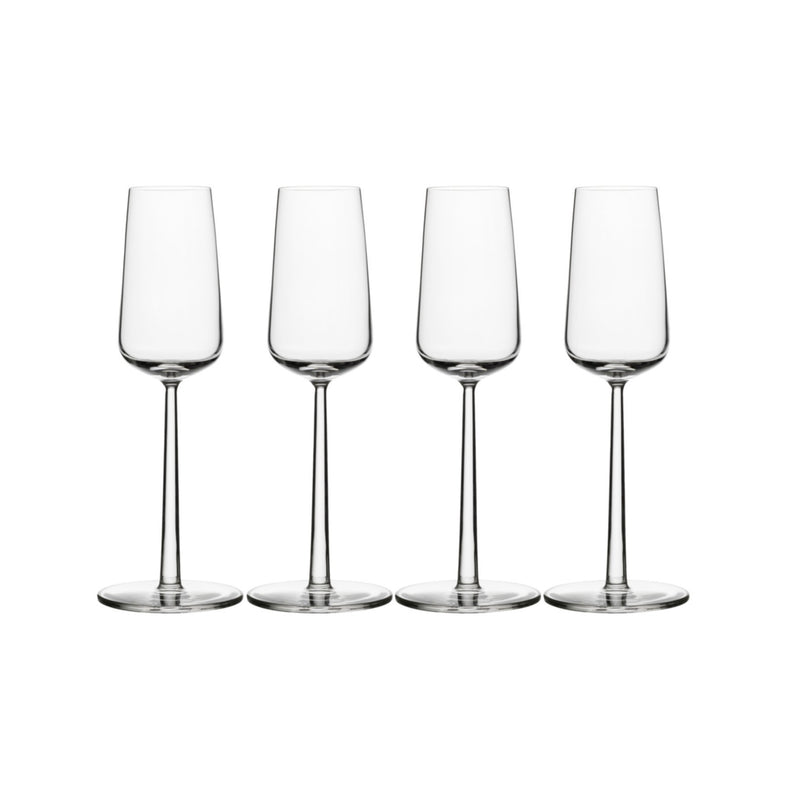 Iittala ESSENCE (2001) Champagne Glasses (set of 4 | 7oz)