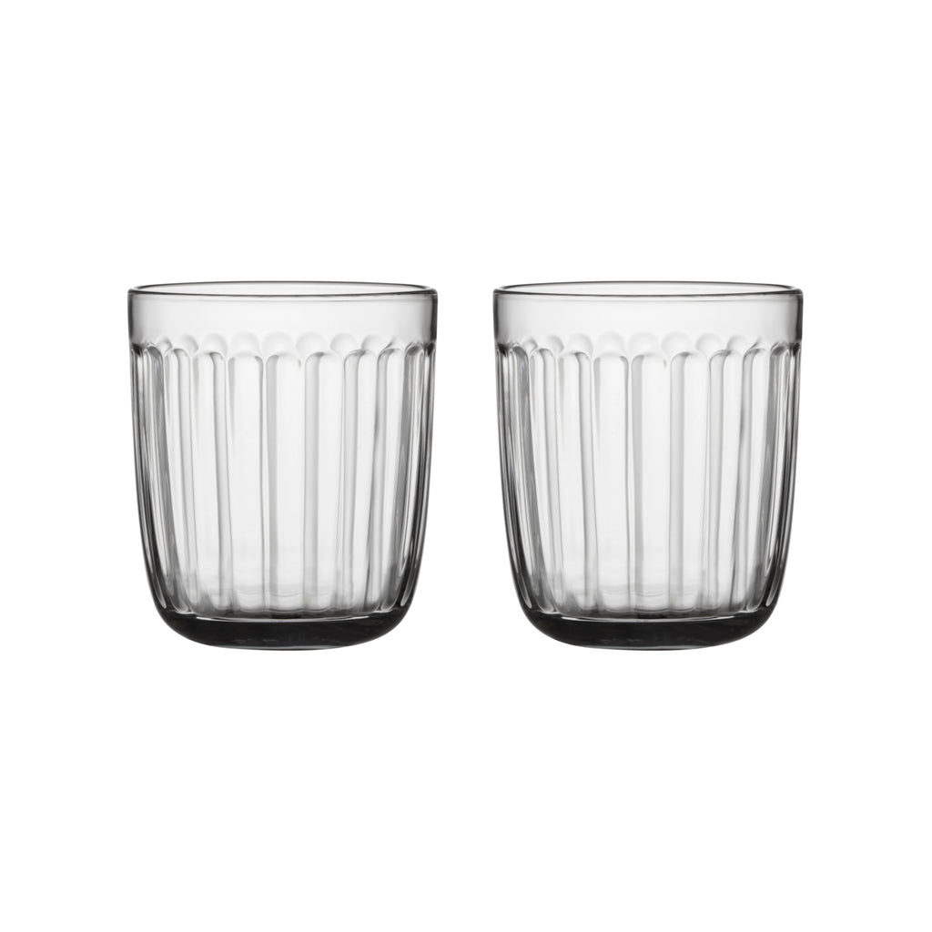Iittala RAAMI Tumblers (set of 2 | 8.75 oz) clear