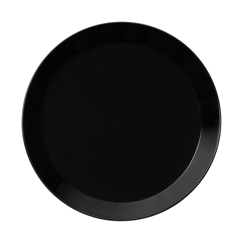 "Iittala TEEMA (1952) Dinner Plate (10.25"") black"
