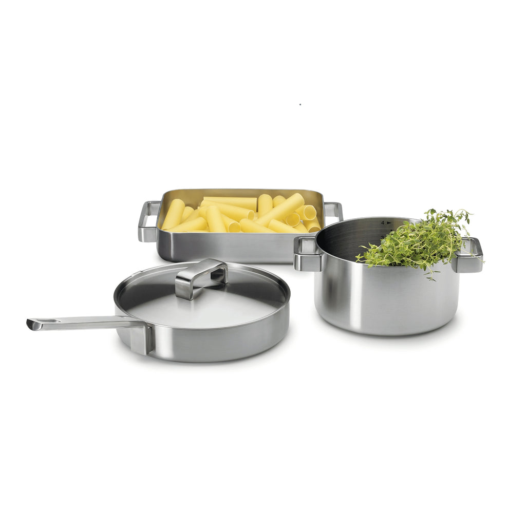 Iittala TOOLS Collection (1998) Saute Pan with Lid