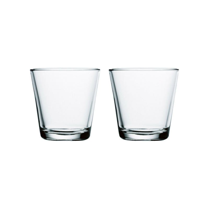 Iittala KARTIO (1958) Tumblers Set of 2 clear
