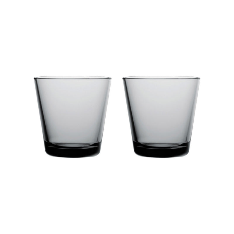 Iittala KARTIO (1958) Tumblers Set of 2 grey