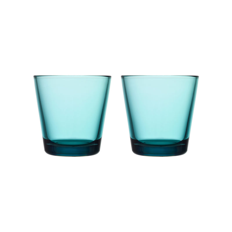 Iittala KARTIO (1958) Tumblers Set of 2 sea blue