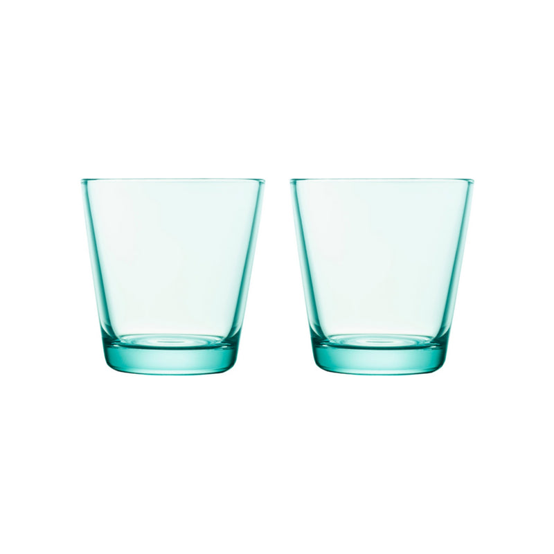 Iittala KARTIO (1958) Tumblers Set of 2 water green