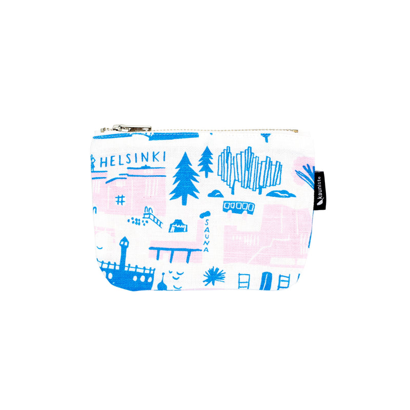 Kauniste HELSINKI Zipper Pouch (2 size options)