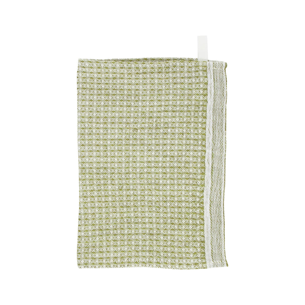 Lapuan Kankurit MAIJA Dishcloth White Olive