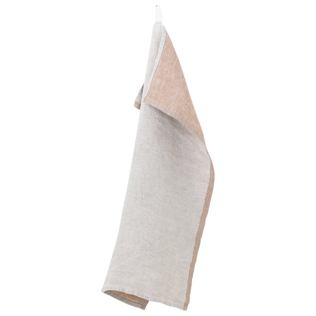 Lapuan Kankurit DUO Tea Towel Linen Cinnamon