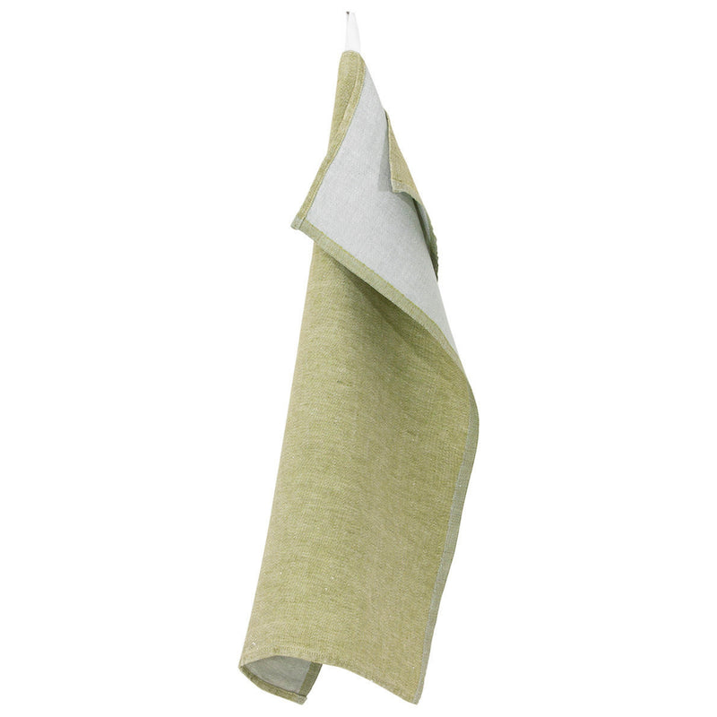 Lapuan Kankurit DUO Tea Towel Olive-Grey