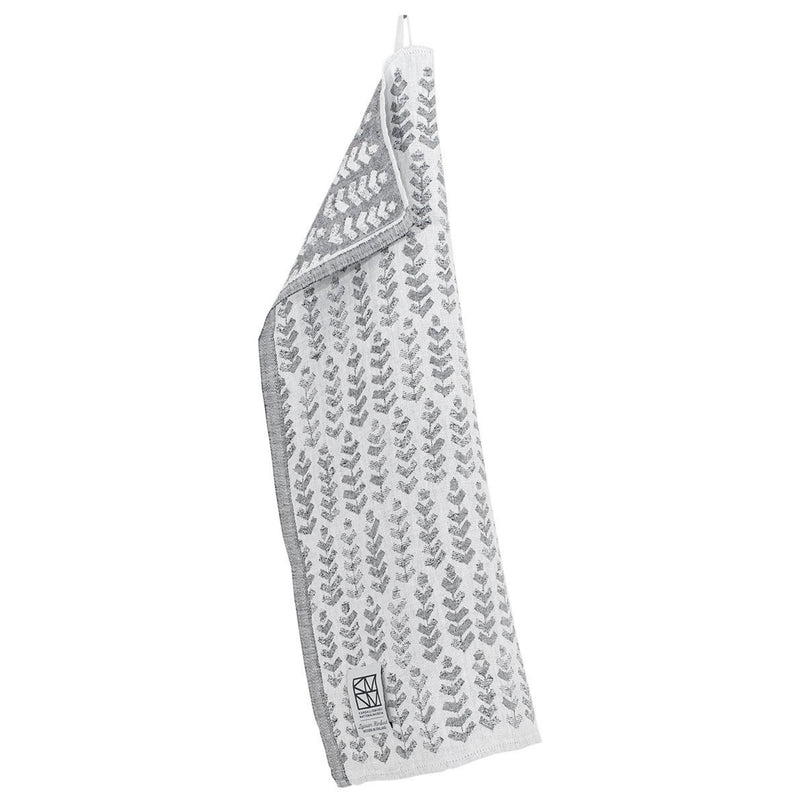 Lapuan Kankurit RUUSU x HVITTRÄSK Tea Towel White-Grey