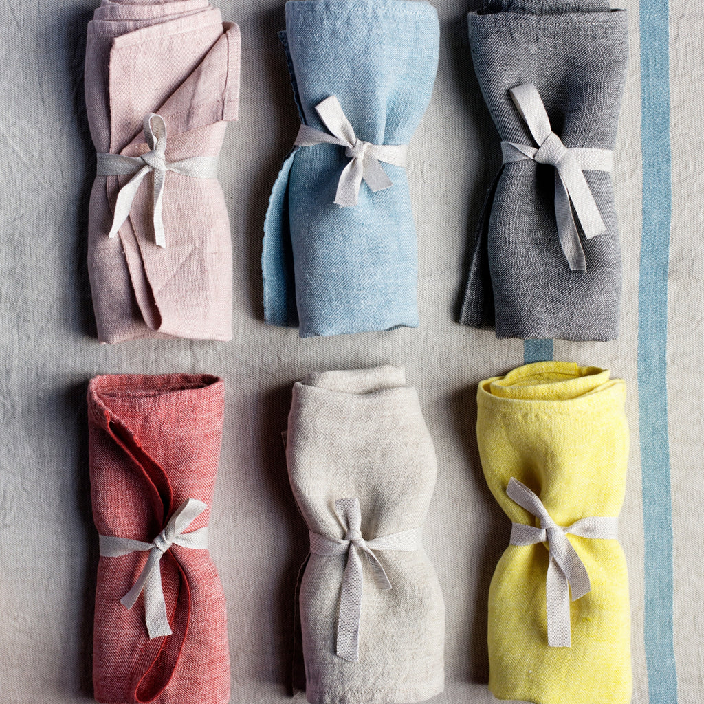 Lapuan Kankurit USVA Large Napkin (100 % linen | 6 colors)