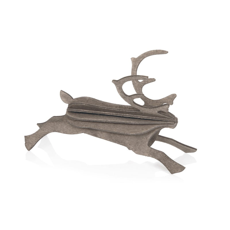 Lovi REINDEER Grey - 3D Christmas Decoration