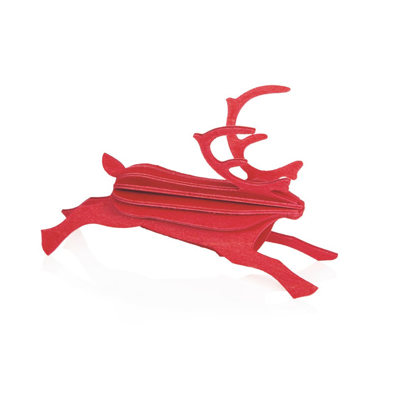 Lovi REINDEER Red - 3D Christmas Decoration