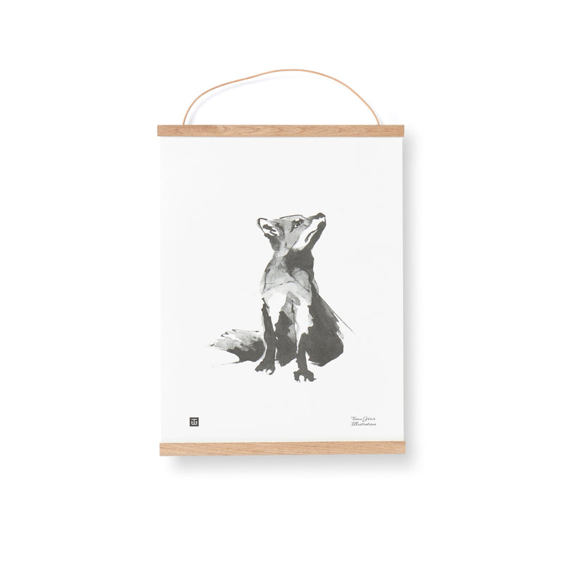 Teemu Järvi RED FOX print | 2 size options