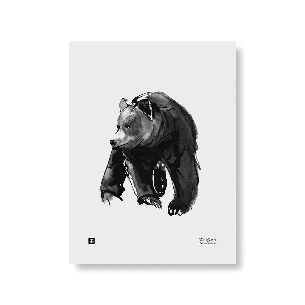Teemu Järvi GENTLE BEAR print | 2 size options