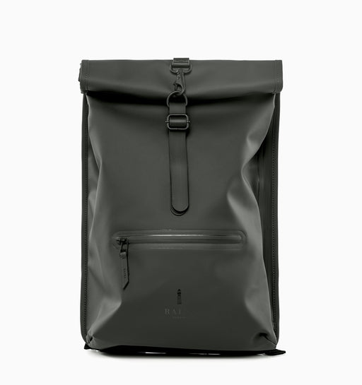 "Rains 15"" Laptop Rolltop Rucksack Backpack"