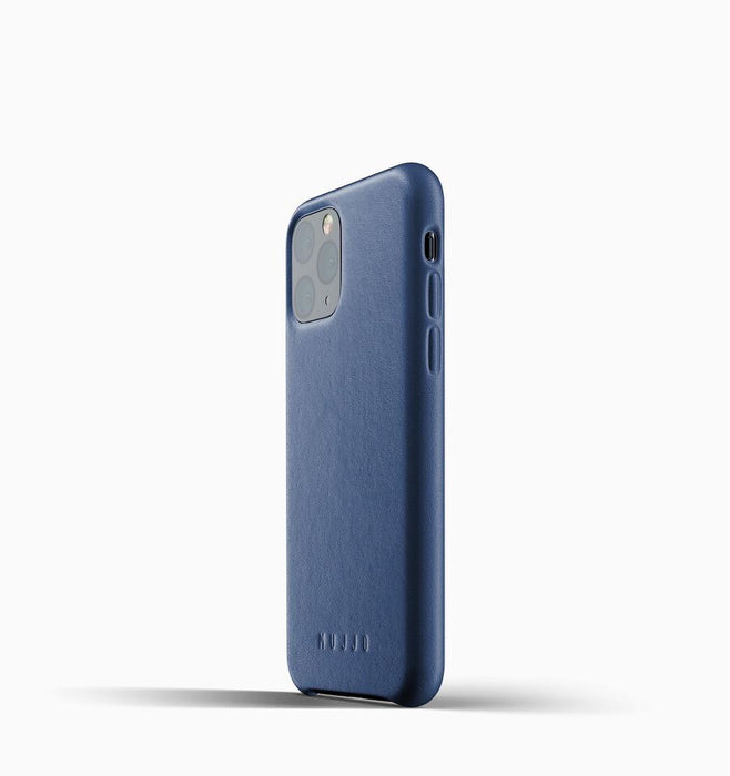 Mujjo Full Leather Case - Blue